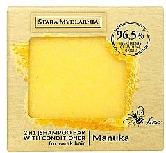 Parfumuri și produse cosmetice Șampon-balsam solid - Stara Mydlarnia Manuka Honey 2in1 Shampoo Bar
