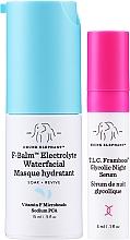 Parfumuri și produse cosmetice Set - Drunk Elephant T.L.C. F-Balm Electrolyte Waterfacial Midi (mask/15ml + ser/3ml)