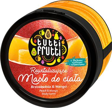 Unt de corp - Farmona Tutti Frutti Peach & Mango Earth — Imagine N1