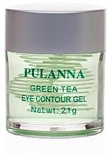 Parfumuri și produse cosmetice Gel tonifiant pentru ochi - Pulanna Green Tea Eye Countour Gel