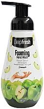 """Parfumuri și produse cosmetice Spumă de curățare pentru mâini """"Măr verde"""" - Aksan Deep Fresh Foaming Hand Wash Green Apple"""