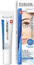 Parfumuri și produse cosmetice Ser pentru zona din jurul ochilor - Eveline Cosmetics Face Therapy Professional SOS DermoRevital
