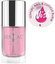 Parfumuri și produse cosmetice Ulei pentru unghii și cuticule - Semilac Care Nail & Cuticle Elixir Wish