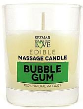 """Parfumuri și produse cosmetice Lumânare naturală pentru masaj """"Bubble Gum"""" - Sezmar Collection Bubble Gum"""