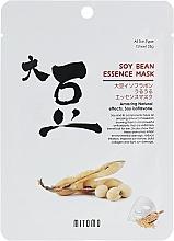 Parfumuri și produse cosmetice Mască din țesătură cu boabe de soia pentru față - Mitomo Soy Bean Essence Mask