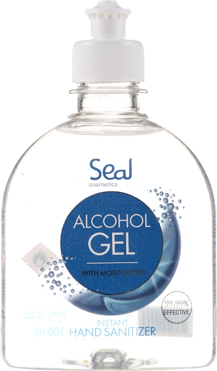 Antiseptic pentru mâini - Seal Cosmetics Alcohol Gel Hand Sanitizer
