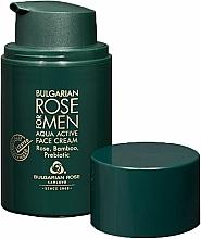 Parfumuri și produse cosmetice Cremă hidratantă pentru bărbați - Bulgarian Rose For Men Aqua Active Face Cream
