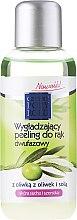 """Parfumuri și produse cosmetice Peeling în două faze pentru mâini """"Măsline"""" - Pharma CF Cztery Pory Roku Olive Hand Two-Phase Peeling"""