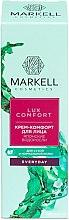 """Parfumuri și produse cosmetice Cremă de față """"Alge japoneze"""" - Markell Cosmetics Lux-Comfort"""