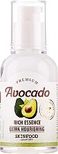 Parfumuri și produse cosmetice Esență cu ulei de avocado - Skinfood Premium Avocado Rich Essence