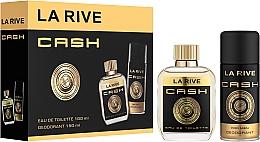 Parfumuri și produse cosmetice La Rive Cash - Set (edt/100ml + deo/150ml)