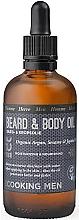 Parfumuri și produse cosmetice Ulei multifuncțional pentru corp și barbă - Ecooking Men Beard & Body Oil