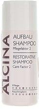 Șampon pentru părul deteriorat - Alcina Care Factor 2 Restorative Shampoo — Imagine N1