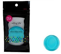 Parfumuri și produse cosmetice Burete din silicon pentru machiaj, albastru - Rolling Hills Silicone Makeup Sponge Blue