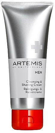 Cremă de ras - Artemis of Switzerland Men Cleansing & Shaving Cream