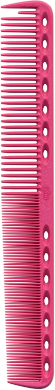 Pieptene de tuns cu dinți plani, 180 mm, roz - Y.S.Park Professional 339 Cutting Combs Pink — Imagine N1