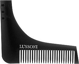 Parfumuri și produse cosmetice Pieptene pentru barbă - Lussoni BC 600 Barber Comb