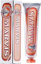 """Parfumuri și produse cosmetice Pastă de dinți cu xylitol """"Ghimbir și mentă"""" - Marvis Ginger Mint + Xylitol"""