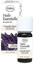 Parfumuri și produse cosmetice Ulei esențial organic de flori de lavandă - Galeo Organic Essential Oil Lavande Aspic