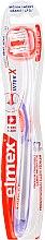 Parfumuri și produse cosmetice Periuță de dinți, violet - Elmex Toothbrush Caries Protection InterX Soft Short Head