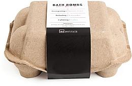 Parfumuri și produse cosmetice Set bombe de baie - IDC Institute Pure Energy Bath Bombs Lavender & Passion Fruit & Lotus