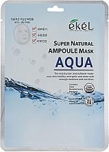 Parfumuri și produse cosmetice Mască de țesut pentru hidratare intensă - Ekel Super Natural Ampoule Mask Aqua