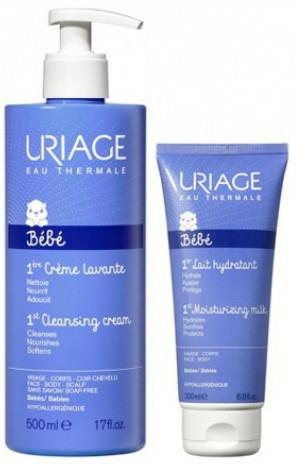 Set - Uriage Baby Set (b/milk/500ml + clean/cr/200ml) — Imagine N1