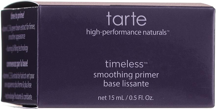 Primer pentru față - Tarte Cosmetics Timeless Smoothing Primer — Imagine N1