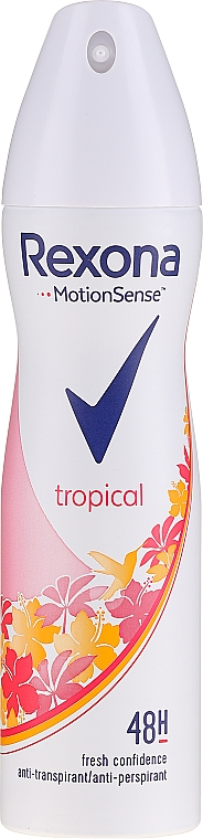 Deodorant spray Rexona Tropical - Rexona Deodorant Spray Tropical