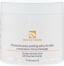 Parfumuri și produse cosmetice Scrub pentru corp - APIS Professional Orange Terapis Orange Salt Body Scrub With Dead Sea Minerals