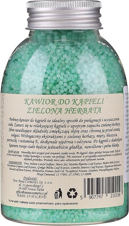 """Bile efervescente pentru baie """"Ceai verde"""" - Fergio Bellaro Green Tea Bath Caviar — Imagine N2"""