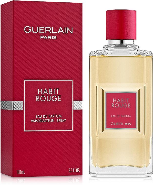 Guerlain Habit Rouge - Apă de parfum — Imagine N2