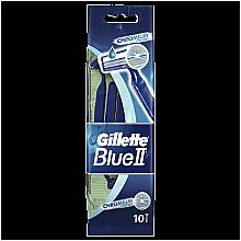 Parfumuri și produse cosmetice Set Aparate de Ras de unica folosință, 10buc - Gillette Blue II Chromium
