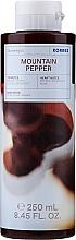 """Parfumuri și produse cosmetice Gel de duș """"Ardei de munte, bergamotă, coriandru"""" - Korres Mountain Pepper Bergamot & Coriander Shower Gel"""