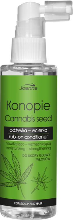 Balsam de păr - Joanna Cannabis Seed Moisturizing-Strengthening Rub-on Conditioner