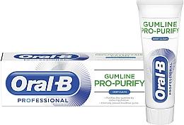Parfumuri și produse cosmetice Pastă de dinți - Oral-B Professional Gumline Pro-Purify Deep Clean