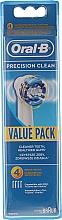 Parfumuri și produse cosmetice Duze interschimbabile pentru periuță electrică de dinți, 4 bucăți - Oral-B EB20 Precision clean