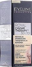 Parfumuri și produse cosmetice Cremă rafinată cu efect de netezire pentru pleoape - Eveline Cosmetics Royal Caviar Therapy Eye Cream