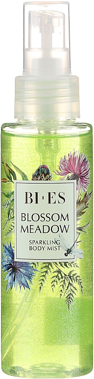 Bi-Es Blossom Meadow Sparkling Body Mist - Spray de corp  — Imagine N2