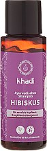 "Parfumuri și produse cosmetice Șampon ""Hibiscus"" - Khadi Hibiscus Shampoo"