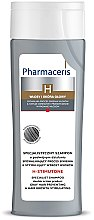 Parfumuri și produse cosmetice Șampon pentru păr cărunt cu efect de revitalizare - Pharmaceris H-Stimutone Specialist Shampoo Gray Hair Preventing & Hair Growth Stimulating