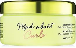 Parfumuri și produse cosmetice Mască (fără clătire) pentru păr creț - Schwarzkopf Professional Mad About Curls Superfood Leave-In