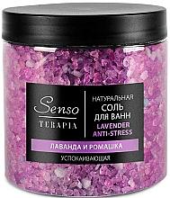 """Parfumuri și produse cosmetice Sare de baie calmantă """"Lavandă și Mușețel"""" - Senso Terapia Lavender Anti-stress"""