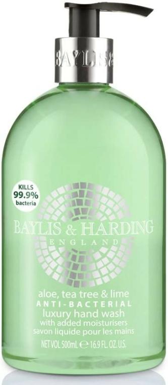 Săpun lichid de mâini - Baylis & Harding Aloe, Tea Tree and Lime Hand Wash