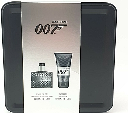 Parfumuri și produse cosmetice James Bond 007 Men Set - Set (edt/30ml + sh/gel/50ml)