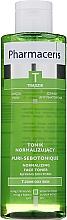 Parfumuri și produse cosmetice Tonic de curățare pentru ten acneic - Pharmaceris T Puri-Sebotonique Normalizing Toner