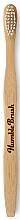 Parfumuri și produse cosmetice Periuță de dinți din bambus, albă - Humble Brush