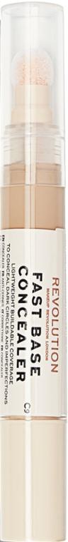 Concealer pentru față - Makeup Revolution Fast Base Concealer