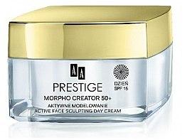 Parfumuri și produse cosmetice Cremă de zi pentru față - AA Prestige Morpho Creator 50+ Active Face Sculpting Day Cream SPF15