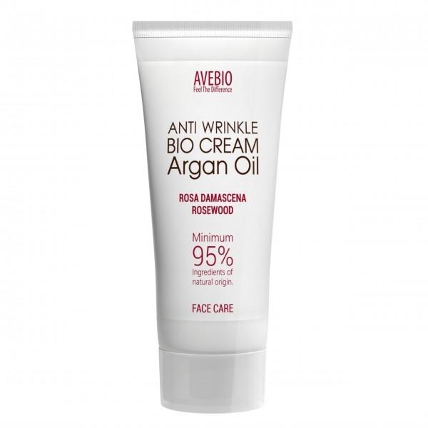 Cremă de față - Avebio Anti Wrinkle Bio Cream Argan Oil — Imagine N1